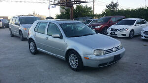 2005 Volkswagen Golf TDI 5SPD! ***CERTIFIED*** only 199850km!