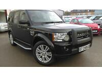 2010 LAND ROVER DISCOVERY 4 TDV6 HSE SANTORINI BLACK WITH BLACK LEATHER 1