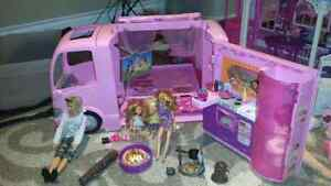 Barbie House, Camper and More