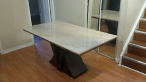 Dining table only -- Marble top