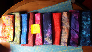 QUILTING COTTON AND BATIKS