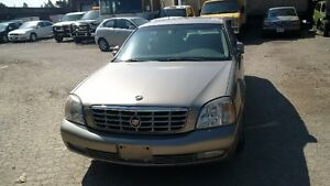 2004 Cadillac DeVille sedan loaded.lether.sunroof