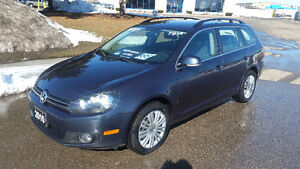 2010 VOLKSWAGEN GOLF TDI WAGON - 157KM - CLEAN CARPROOF - $8995