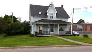 LARGE HOUSE in downtown SUSSEX!  Income opportunity!