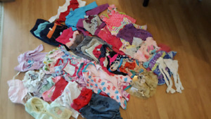 3-6 month girl clothes lot
