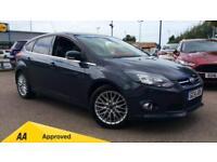 2014 Ford Focus 1.0 125 EcoBoost Zetec Navigat Manual Petrol Hatchback