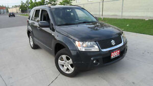 2007 Suzuki Grand Vitara, Auto, 4x4, Low km,3/Y warranty availab