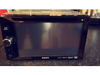 Sony touch screen stereo and DVD player
