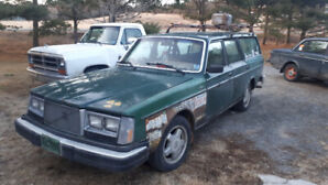 1982 volvo 240 wagon one of a kind!