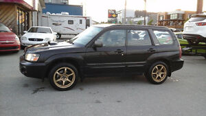 2004 Subaru Forester XT turbo 4x4
