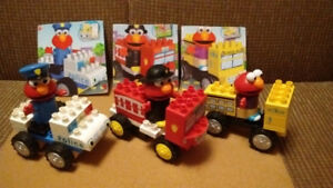 ELMO-K'NEX  BUILDING SETS / V-TECH  ROAD SET