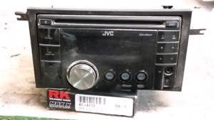 Jvc double din car cd/mp3 player with usb slot