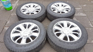 !! CHEVROLET HIGH COUNTRY FACTORY ALUMINUM WHEELS/TIRES $1650.00