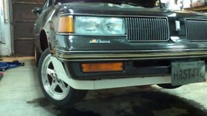 1987-1988 cutlass 2dr RWD headlights
