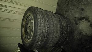 Four winter tires made in Japan Kingston Kingston Area image 8