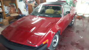 1980 TRIUMPH TR7 CONVERTIBLE RARE COLLECTABLE London Ontario image 6