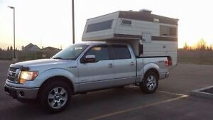 5.5 ft Truck camper. Perfect for the new short box 1/2tons