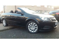 2006 06 VAUXHALL ASTRA TWIN TOP CONVERTIBLE 1.6i 16V.VERY NICE EXAMPLE WITH FSH.