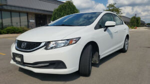 2014 Honda Civic LX Auto. No Accidents. Bluetooth Honda warranty