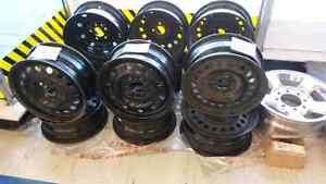 Six sets of alloy and steel rims  Cambridge Kitchener Area image 4