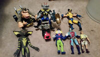 39 Various Action Figures