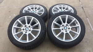 """BMW OEM 18"""" Winter Tires and Rims 245/45/18"""