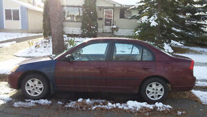 2003 Honda Civic (Price Negotiable)