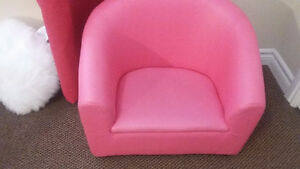 Leather Pink Chair