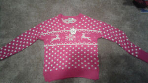 Christmas sweater new with tags!!