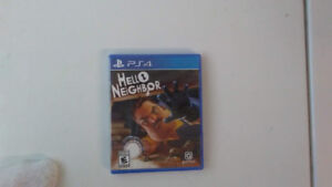 Hello neighbor PS4 brand new