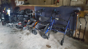 Assorted Mobility assisting devices