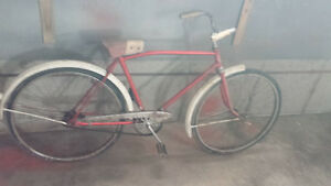 velo bicyclette vintage antique CCM RAMBLER