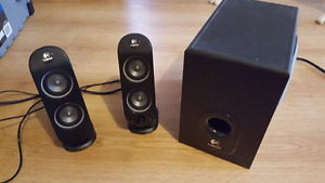 Logitech x230 speakers and subwoofer