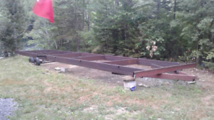 REDUCED .. Mobile home Frame, Axle and Tow Hitch