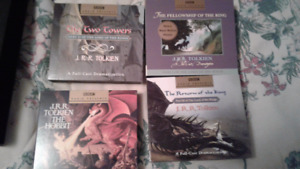LORD OF THE RINGS AUDIO CD Gift Set - 17 cd's altogether