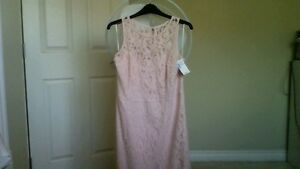 New Ricki's Pink Lace dress with a tag $24.99.