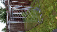 Huge outdoor dog cage
