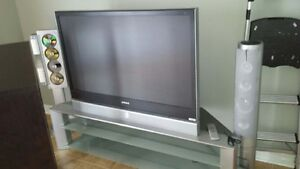 "Samsung 50"" DLP TV with stand for sale $130 or best offer"