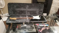 Guitar Package w/Amp, Hard Case, Stand and Instructional Books