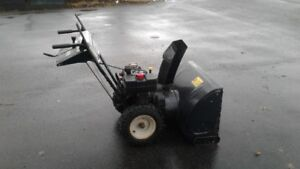 "10.5 hp 29 ""cut Mtd snowblower $500.00"