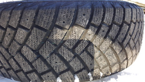 Week old!! IRONMAN Polar Trax WINTER TIRES and RIMS!!