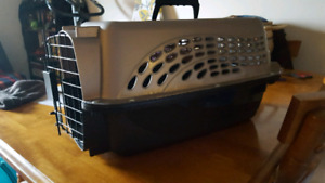 2 door top load pet carrier
