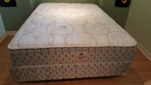 DOUBLE MATTRESS BED WITH BOX AND FRAME
