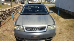 Audi  all-road quouatro  2003 .