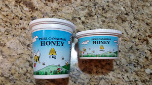 Raw local honey for sale