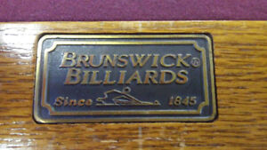 4x8 Quality Brunswick Slate Pool Table For Sale Stratford Kitchener Area image 3
