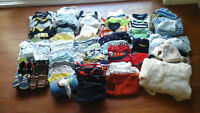 Baby boy clothes preemie to 12m