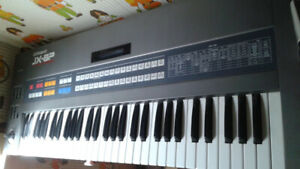 Roland JX-8P Vintage Analog Synthesizer  and PG-800 Controller