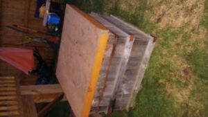 Storage crate for sale  (store fire wood etc.)