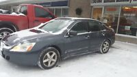 2005 Honda Accord 4 cylinder 5 speed fully loaded